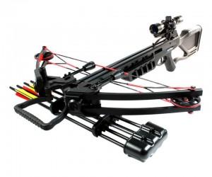 Арбалет блочный Man Kung MK-380 BK (черный, PKG)