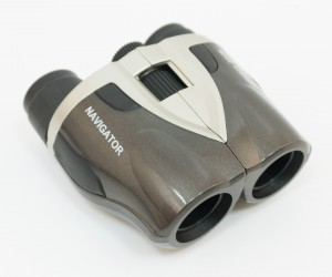Бинокль Navigator 8-25x25 Compact (серебристо-серый)