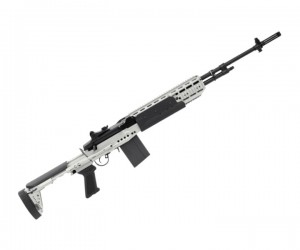 Страйкбольная винтовка G&G M14 EBR Long Silver (TGM-014-EBL-SNB-NCM)