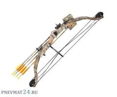 Детский блочный лук Man Kung MK-CB009, 11 кг, 84 см (камуфляж)