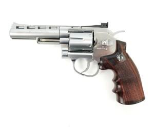 """Страйкбольный револьвер G&G G732 SV (4"""", Silver) (CO2-732-PST-SNB-NCM)"""