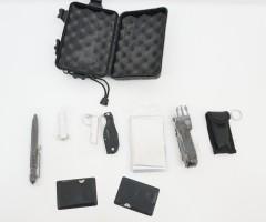 Набор для выживания из 12 предметов в пластик. боксе (BH-MK05)