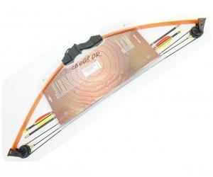 Детский блочный лук Man Kung MK-CB008, 4,5 кг, 84 см (оранжевый)