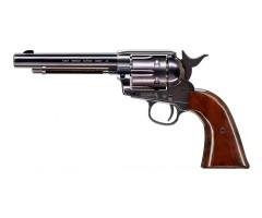 """Пневматический револьвер Umarex Colt Single Action Army (SAA) .45 Blue, пулевой (5,5"""")"""