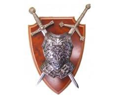 Панно, 2 мини-меча (Эскалибр и Тизона д'Сида), кираса, DE-506