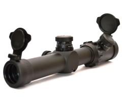 Оптический прицел Nikko Stirling C-More 1-10x24, с подсветкой, 30 мм