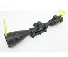 Оптический прицел Nikko Stirling Airking 3-9x42 AO, Half MD, с подсветкой