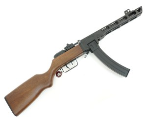 Страйкбольный пистолет-пулемет Snow Wolf PPSH EBB, дерево (SW-09W)