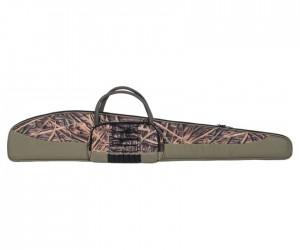 Чехол Allen для ружья, камуфляж камыш, 132 см, с карманом