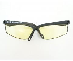 Очки защитные G&G Yellow, желтые линзы (G-07-129)