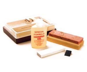 Набор для заточки Gatco Natural Arkansas Sharpening Kit (Medium/Fine) GT80005