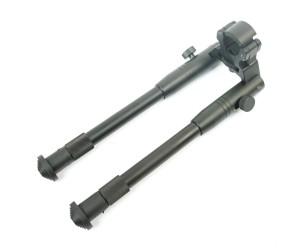 Сошки оружейные Veber 2227A на ствол, 23-27 см