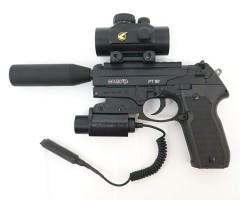 Пневматический пистолет Gamo PT-80 Tactical