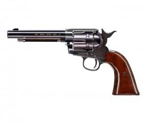"""Пневматический револьвер Umarex Colt Single Action Army (SAA) .45 BB Blue (5,5"""")"""