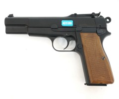 Страйкбольный пистолет WE Browning Hi-Power Black (WE-B001)