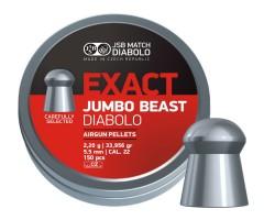 Пули JSB Exact Jumbo Beast Diabolo 5,5 мм, 2,2 грамм, 150 штук