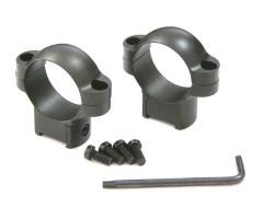 Кольца не быстросъемные 30 мм. на CZ 527, высокие, матовые, металл