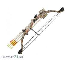 Детский блочный лук Man Kung MK-CB010, 11 кг, 84 см (камуфляж)