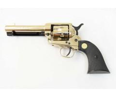 Сигнальный револьвер Colt Peacemaker M1873, хром