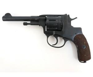 Охолощенный СХП револьвер СХ-Наган ИЖ-172, царские без клейма до 1917 (Ижмаш) 10ТК