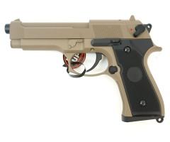 Страйкбольный пистолет Cyma Beretta M92 AEP Tan (CM.126TN)