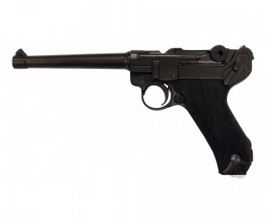 Макет пистолет Luger Parabellum P08, морской (Германия, 1898 г.) DE-1144