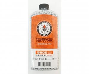 Шары для страйкбола G&G 0,30 г, 5600 штук (серые, бутылка) G-07-242