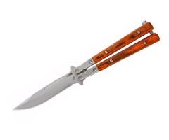 Нож-бабочка «Чёткий расклад» B-100