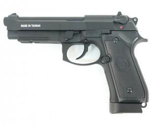 Страйкбольный пистолет KJW Beretta M9A1 CO₂ GBB
