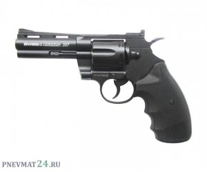 """Пневматический револьвер Swiss Arms 357-4"""" (Colt Python)"""
