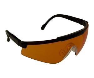 Очки стрелковые Sporty, оранжевые линзы (1060-0)