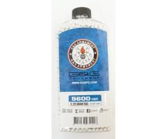 Шары для страйкбола G&G 0,28 г, 5600 штук (белые, бутылка) G-07-234