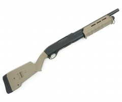 Страйкбольный дробовик Cyma Remington M870 short Magpul, пластик Tan (CM.355 TN)