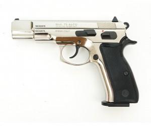 Охолощенный СХП пистолет Z75-СО Kurs (CZ 75) 10ТК, хром