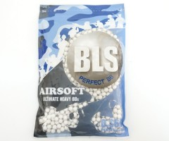 Шары для страйкбола BLS 0,36 г, 1000 штук (белые) 1BA-PLA36