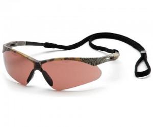 Очки стрелковые Pyramex PMXTREME SCM6318STP, камуфляж, коричневые линзы (Anti-Fog)