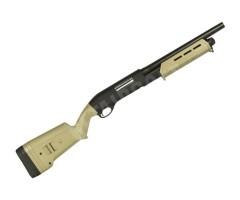 Страйкбольный дробовик Cyma Remington M870 short Magpul, металл Tan (CM.355M TN)