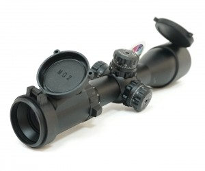 Оптический прицел Leapers Accushot Tactical 3-12x44 Compact Glass, 30 мм (SCP3-UGM312AOIEW)