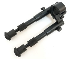 Сошки Leapers UTG для установки на ствол, высота 15-17 см (TL-BP18S-A)