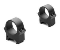 Кольца не быстросъемные PRW 26 мм на Weaver/Picatinny, низкие, матовые, металл