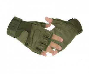 Перчатки с обрезанными пальцами Blackhawk Green