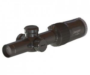 Оптический прицел Yukon Jaeger (Егерь) 1-4x24 T01i