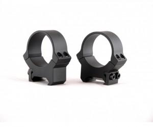 Кольца не быстросъемные PRW 26 мм на Weaver/Picatinny, средние, матовые, металл