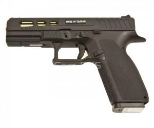 Страйкбольный пистолет KJW CZ KP-13C CO₂ GBB