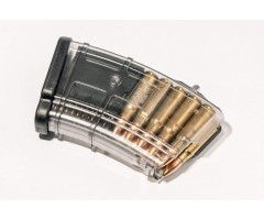 Магазин Pufgun на ВПО-133/Сайга-МК/М (без сухаря) 7,62x39, 10 патронов (прозрачный)