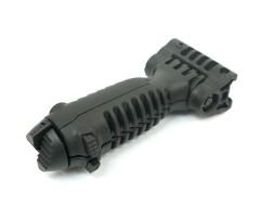 Тактическая рукоятка-сошки Veber T-POD, 15-22 см