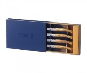 Набор кухонных ножей Opinel Table Chic, 4 предмета линок - 10 см, рукоять - береза