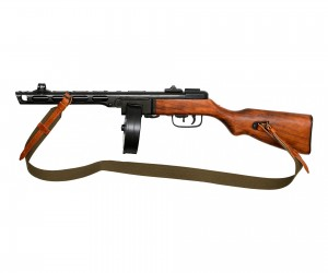 Макет пистолет-пулемет Шпагина ППШ-41, с ремнем (СССР, 1941 г.) DE-9301
