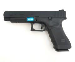 Страйкбольный пистолет WE Glock-34 Gen.4, сменные накладки (WE-G008B-BK)