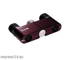 Театральный бинокль Nikon Elegant 4x10 DCF, красный